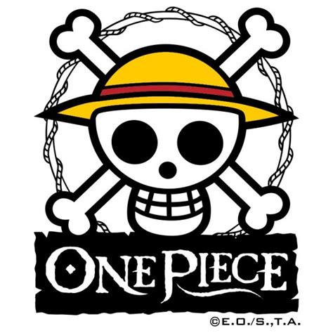 Logo Anime Luffy verre one luffy logo skull
