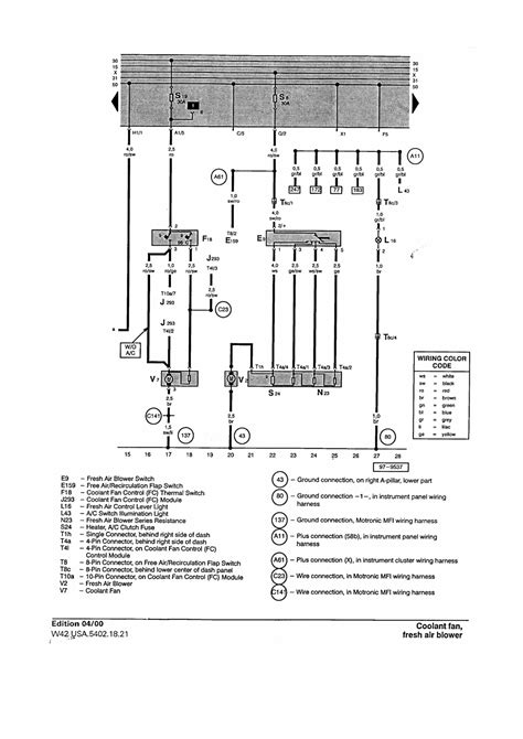 2000 vw beetle cooling fan wiring diagram wiring diagram