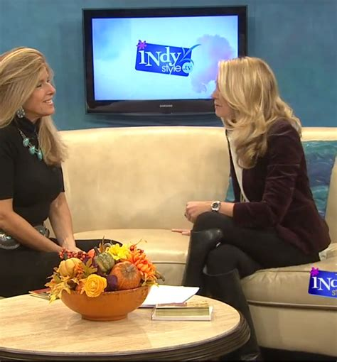 andi hauser wish tv indy style hosts indianapolis newhairstylesformen2014 com