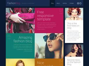 Fashion Blog Free Website Template Free Css Templates Free Css Responsive Fashion Website Templates Free