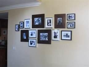 photo wall family photo wall diy inspired