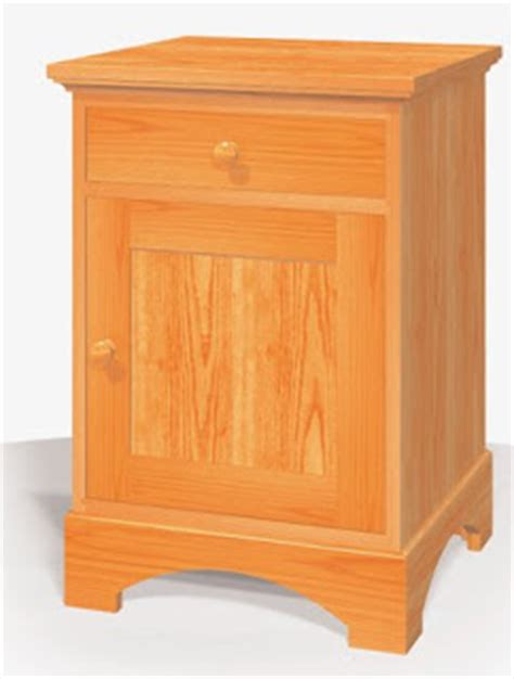 plan blog archive nightstand wood project plans