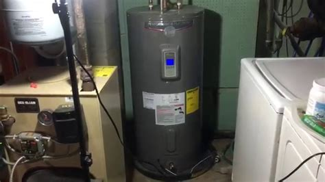 Rheem Performance Platinum 50 Gallon Electric Hot Water Heater Review   YouTube
