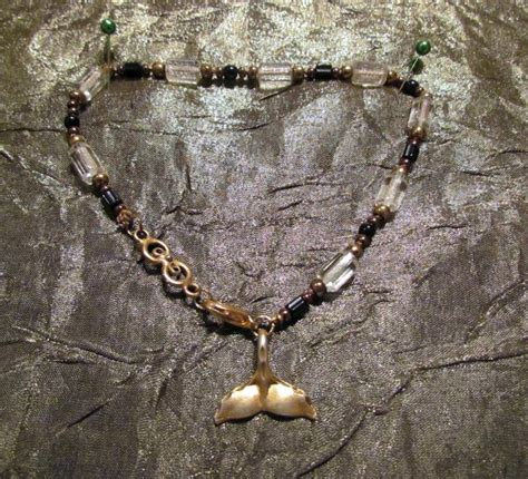 Handmade Anklet - handmade ankle bracelet beaded anklet powerofonedesigns