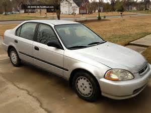 1997 honda civic dx sedan 4 door 1 6l