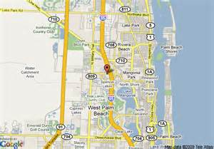 map of florida showing west palm roof inn west palm west palm deals see