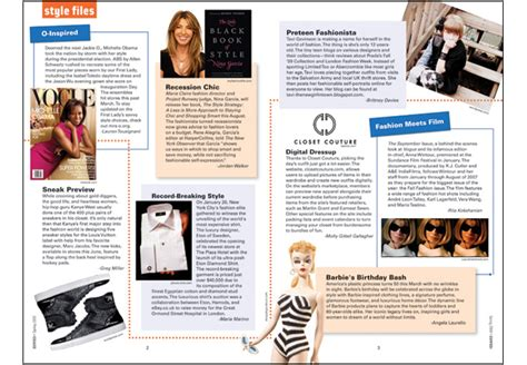 design fashion magazine layout personal design work adria saracino freelance brand