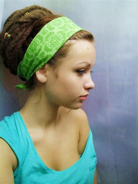 loc a loc headband style video nice dread bun with one of the lace headbands maybe