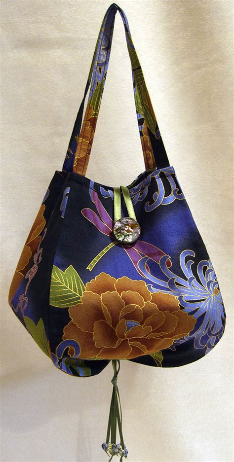 Handmade Bag Patterns Free - noriko handbag purse pattern lazy designs