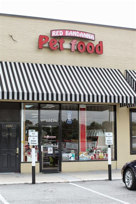 red bandanna pet food pet stores buckhead atlanta