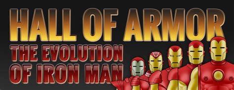 evolution iron mans armour comiconverse