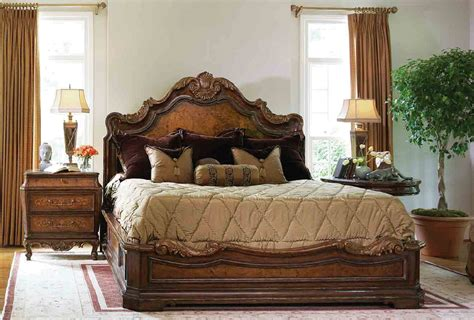 High End Master Bedroom Set Platform Bed High Bed Set