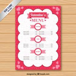 Day Menu Template by Day Menu Template Vector Free