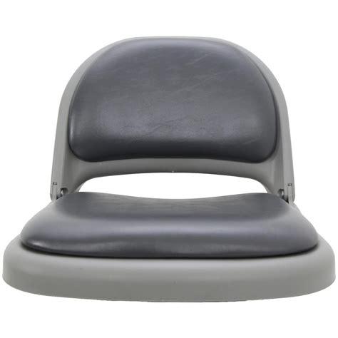 vinyl seat cushions clam deluxe vinyl seat cushions 209931 fishing