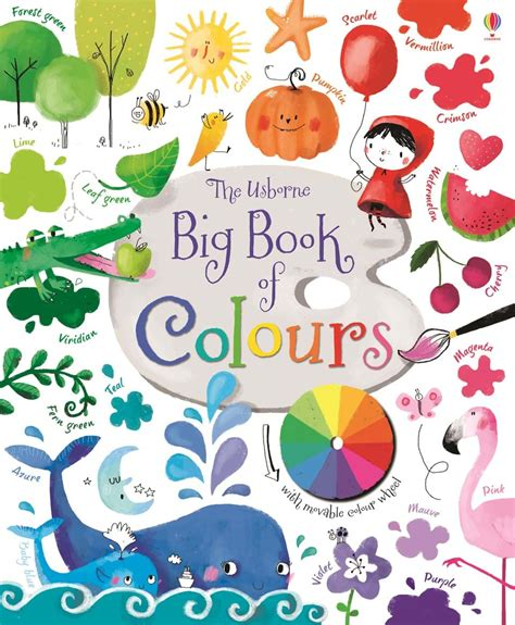 children s books about colors big book of colours at usborne children s books