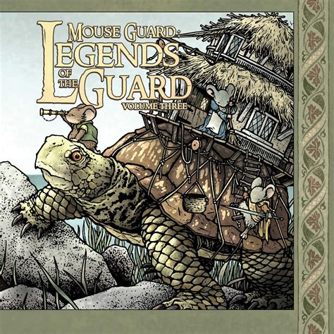 Mouse Guard Legends Of The Guard Vol 1 Graphic Novel Ebooke Book mouse guard legends of the guard volume 3 book by