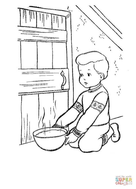 coloring pages christmas eve christmas eve in denmark coloring page free printable