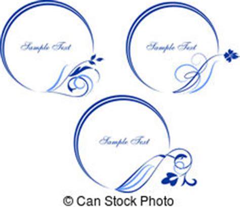 far cornici clipart vettoriali di cornici ovale set di cornici