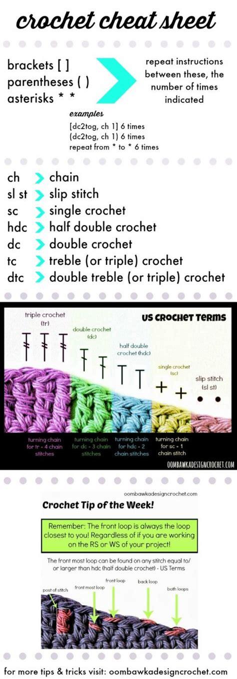 design home cheats facebook crochet cheat sheet oombawka design crochet