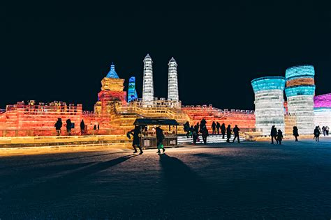 harbin ice festival the snow ice festival in harbin china by dominik