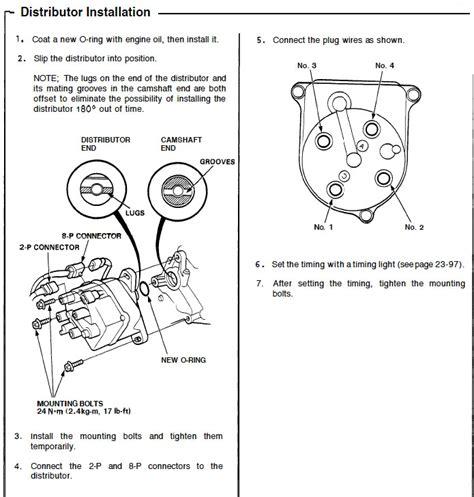 in an eg h22 distributor wiring diagram wiring diagrams