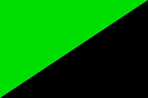 Flag Black file green and black flag svg