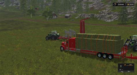 Handmade Ls - peterbilt 388 flatbed custom v1 fs17 farming simulator
