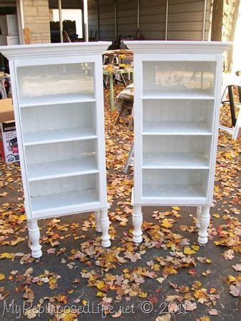 Window Display Furniture by Display Cabinets Repurposed And Window On