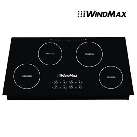 induction hob sale windmax 174 sale 31 5 induction hob 4 burner stove cooktops black glass plate 6600w