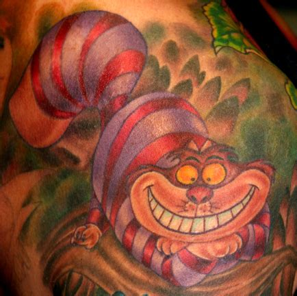 hope gallery tattoo gallery tattoos tim harris cheshire cat