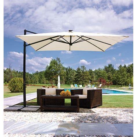 ombrellone per giardino ombrellone da giardino decentrato 3x3mt con san marco