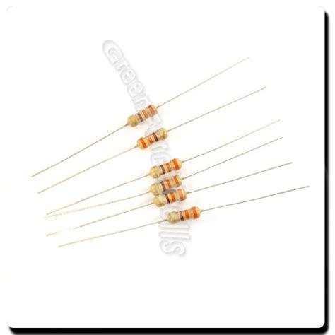 330 ohm resistor 1 2 watt 100 pcs carbon resistors 1 4w 0 25w 0 25 watt 330 ohm 330ohm 5 ebay