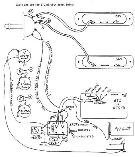 Bartolini Pre Wiring Diagram