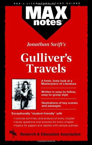 gullivers travels eso material gulliver s travels maxnotes literature guides 9780878910151 slugbooks