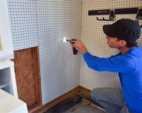 install  pegboard  tos diy