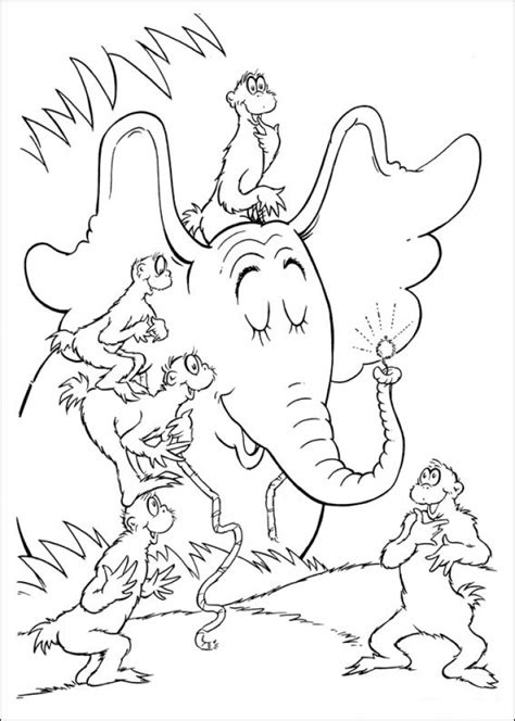Dr Seuss Printable Coloring Pages Coloring Europe - get this free dr seuss coloring pages 16970