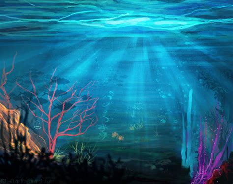 acrylic painting underwater 9 paintings inspirations free premium