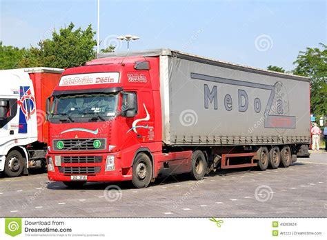 volvo fh editorial stock image image  fast carrier