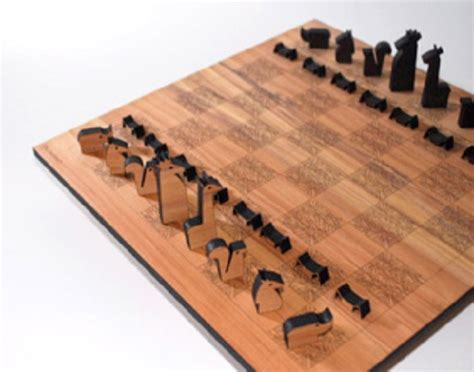 Kitchen Redesign Ideas wooden animals homemade chess set home amp garden do it