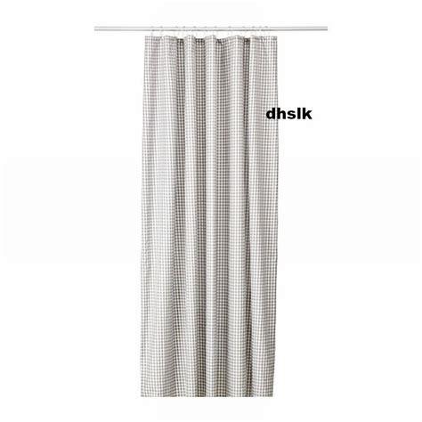 ikea canada shower curtain ikea margareta fabric shower curtain gray grey checked