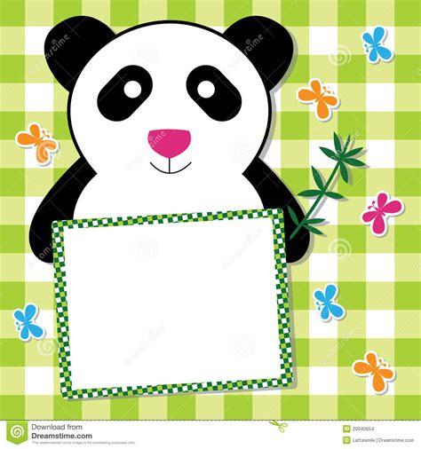 panda card template panda card stock images image 20040654