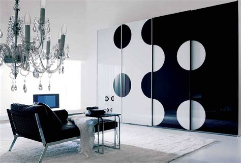 home decor black and white 9 black and white wardrobes interior design ideas