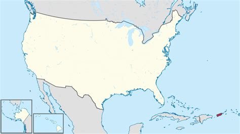 map of the united states and puerto rico file puerto rico in united states us48 2 svg wikimedia