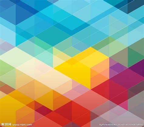 design review background color 炫彩几何背景素材设计图 背景底纹 底纹边框 设计图库 昵图网nipic com