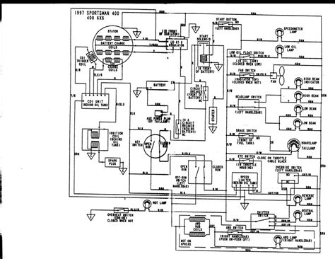 1994 yamaha kodiak 400 wiring diagram wiring diagram