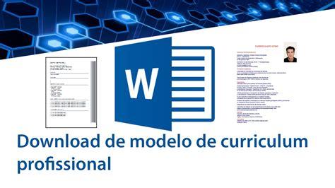 Modelo Curricular De Y Taba Baixe Modelos De Curriculum Gratuitamente