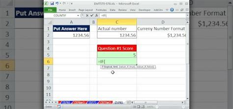 format fail microsoft excel 2007 grading using if function in excel 2007 ms excel the