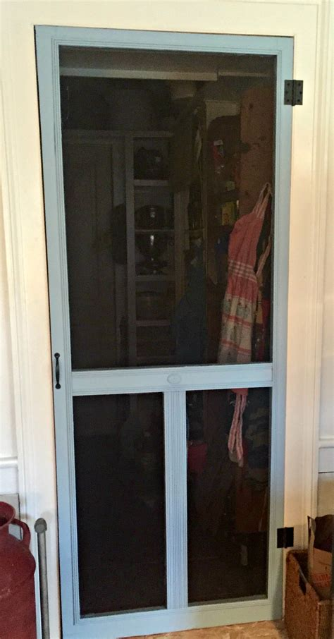 porch to pantry screen door holds court inside be fed