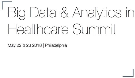 healthcare analytics summit summit insights healthcare analytics events dataiku collaborative data science platform