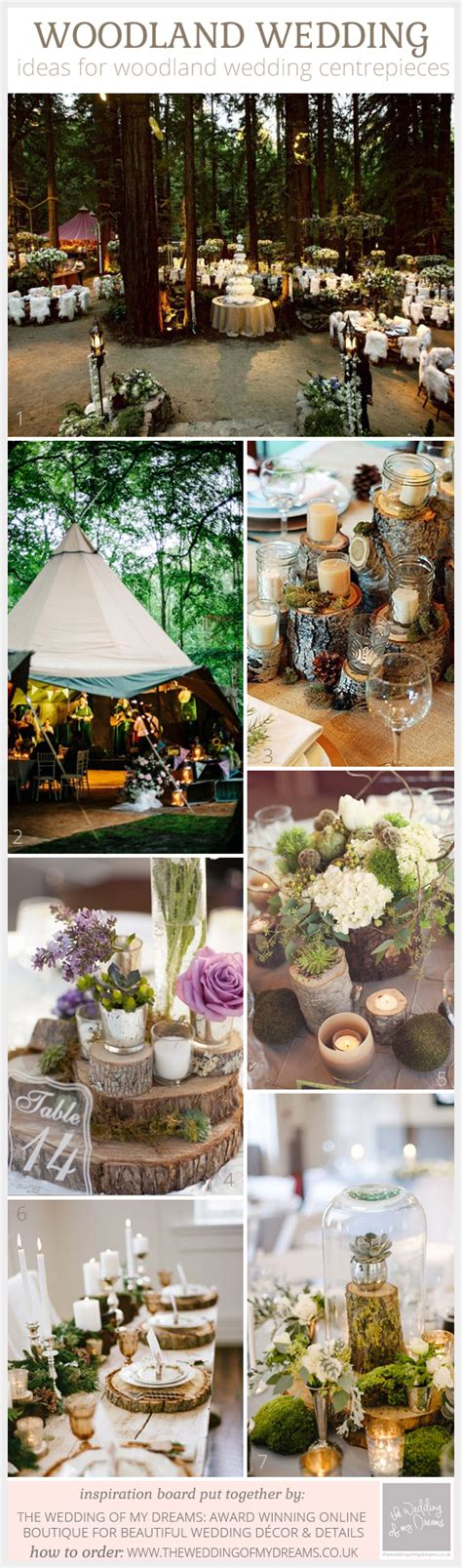 Wedding Centrepiece Ideas by Woodland Wedding Centrepiece Ideas The Wedding Of My